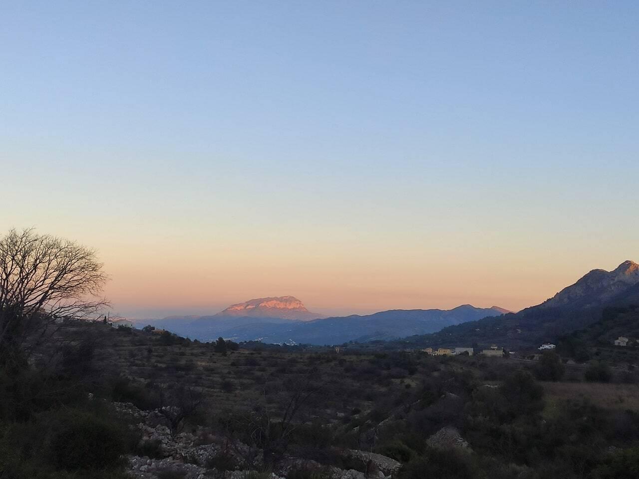 ruta del barranco del infierno Alicante