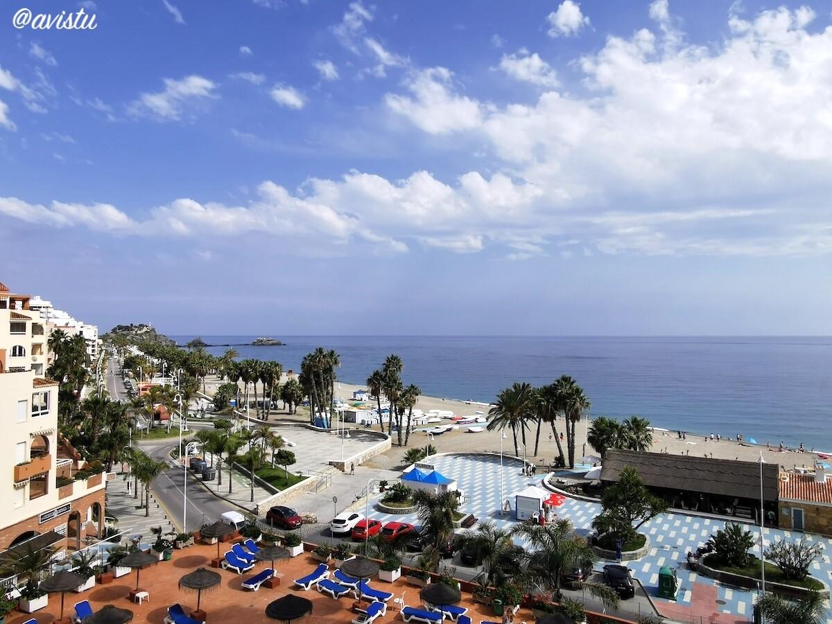 Vistas desde la terraza, Apartamentos - Estudios ChinaSOL (Almuñécar)