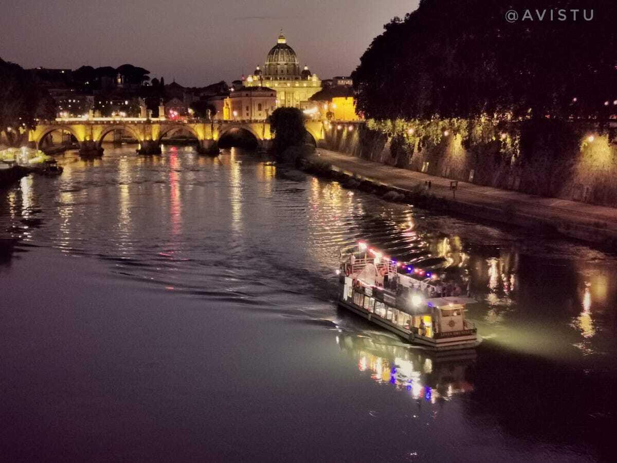 Crucero por el Río Tíber en Roma