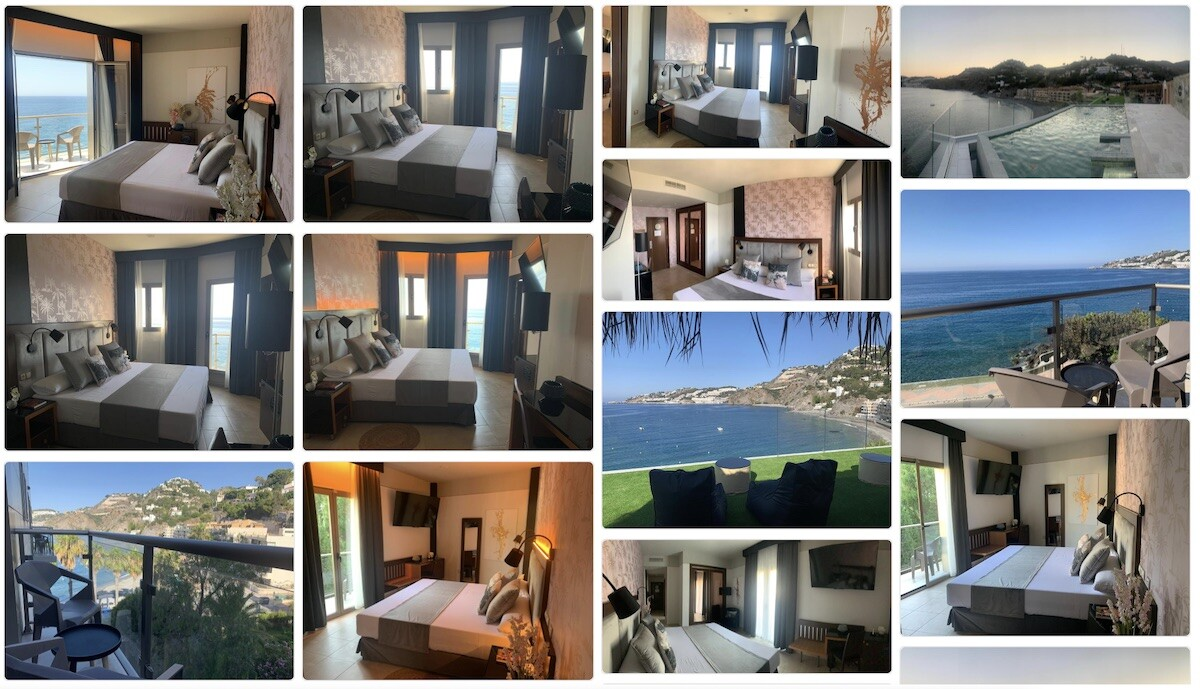 Hotel On Aleta Rooms for adults, Almuñecar, Costa Tropical