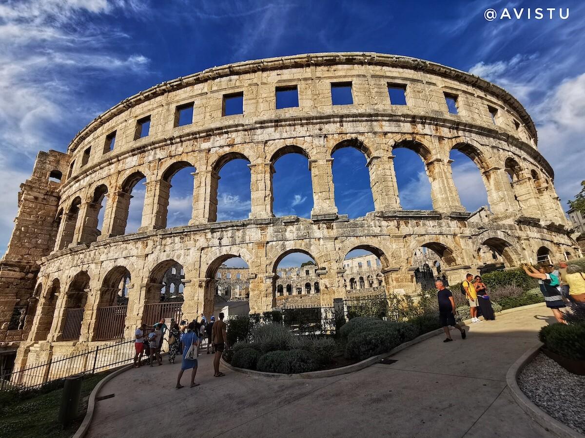 Anfiteatro de Pula en Croacia