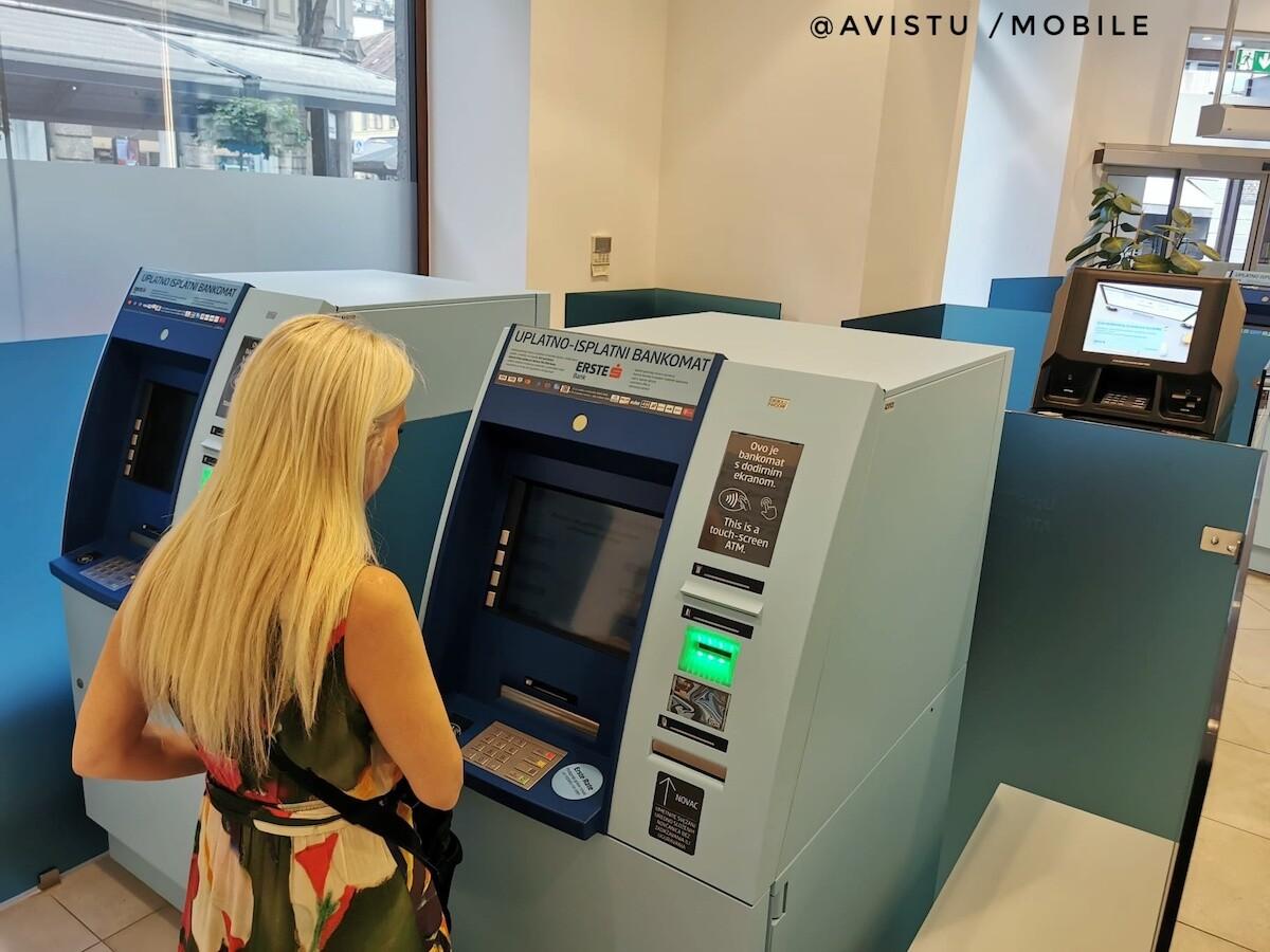 Cajero Automático en Zagreb