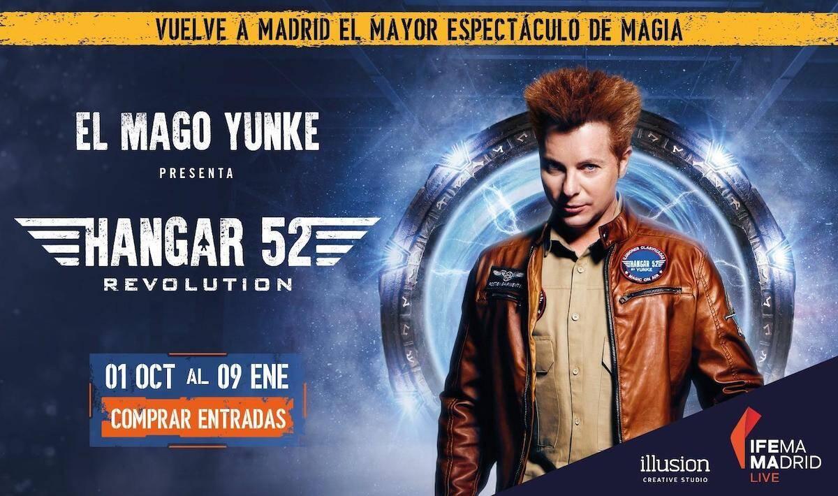 El Mago Yunke y su espectáculo Hangar 52 en IFEMA