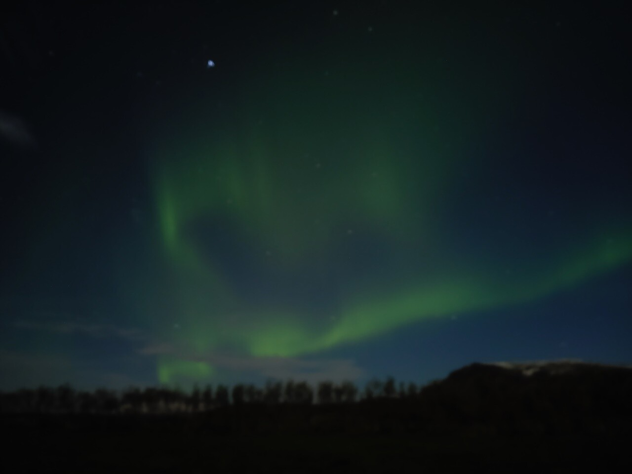 ver auroras boreales islandia