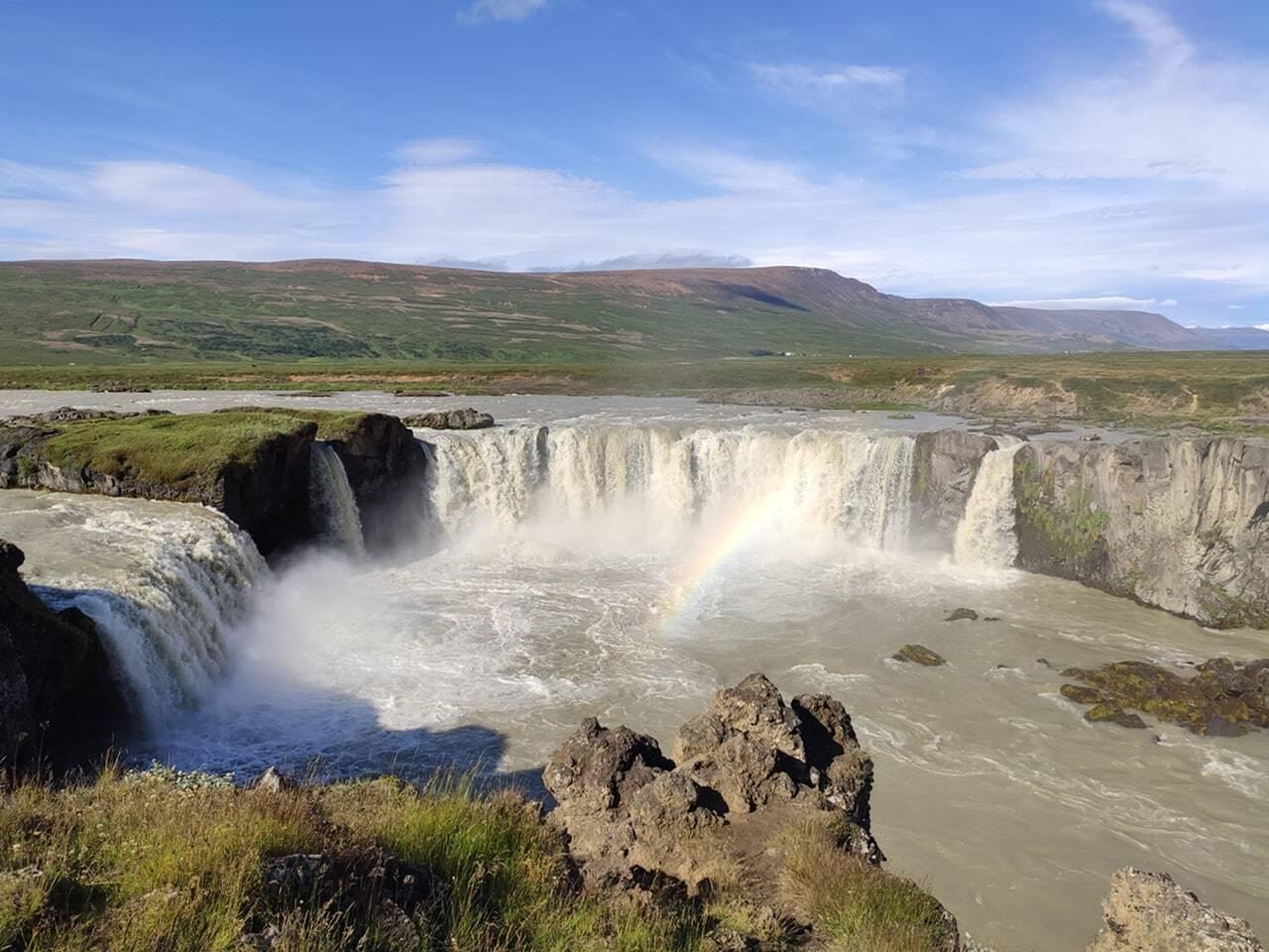 visita a godafoss islandia