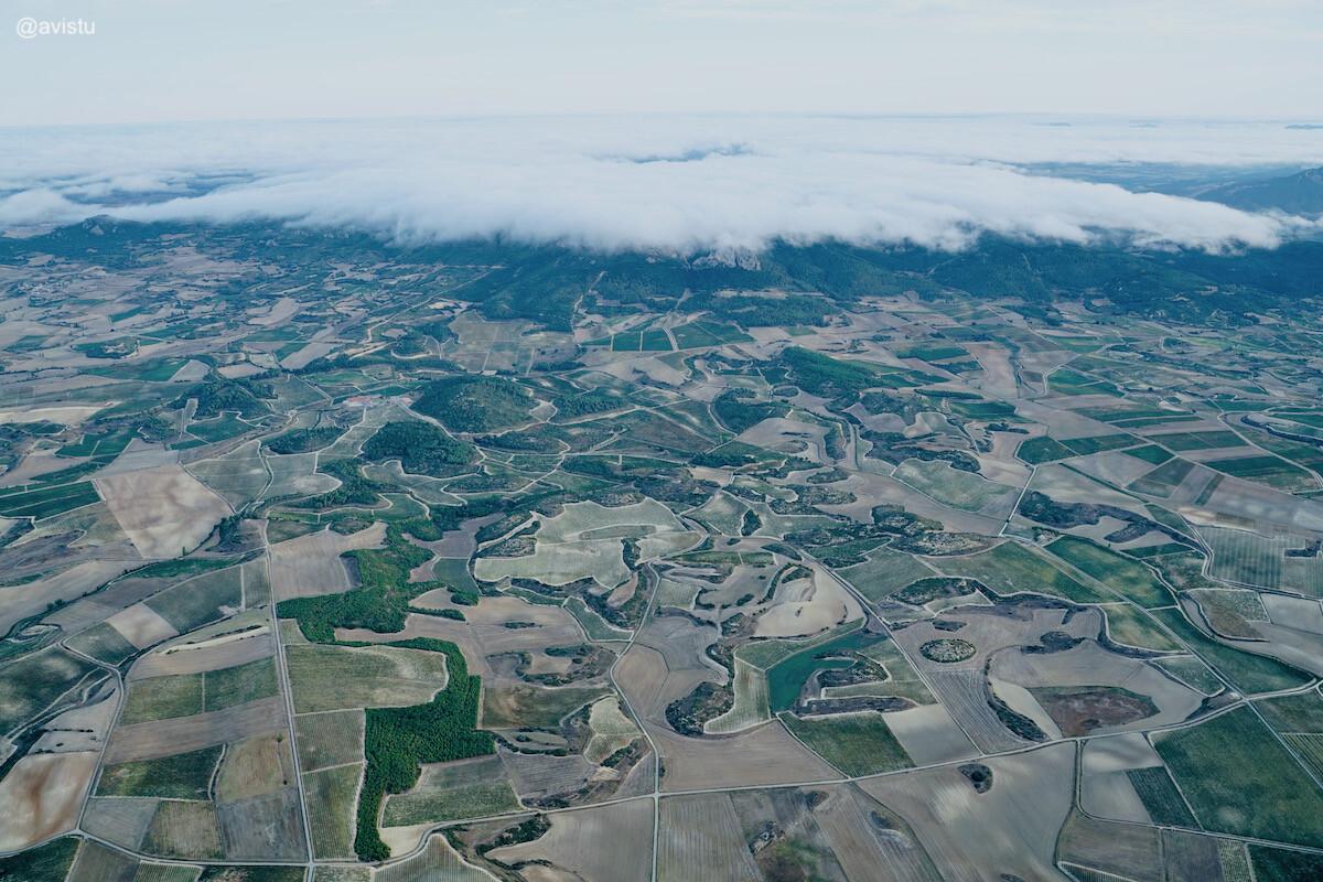 La Rioja desde las alturas a vista de globo