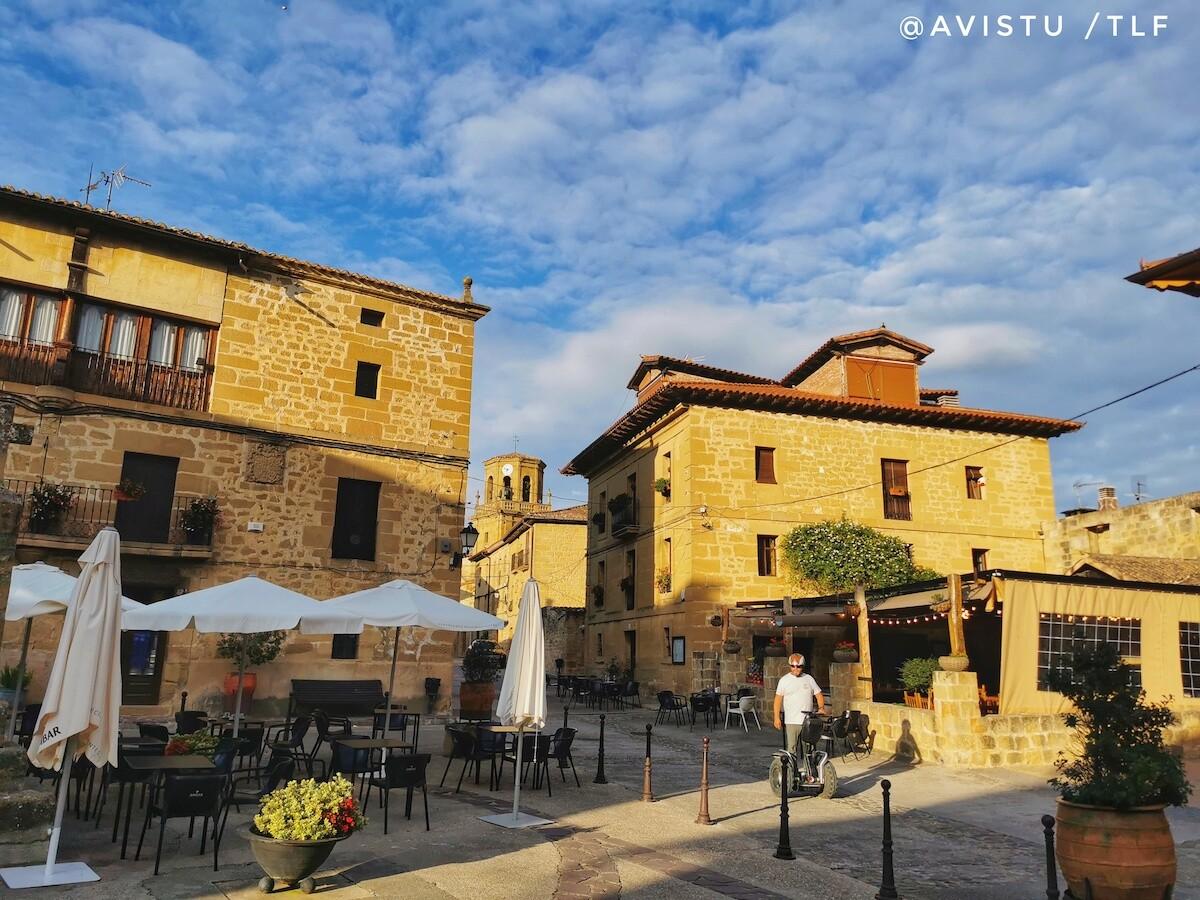 Paseando en Segway por Sajazarra en La Rioja