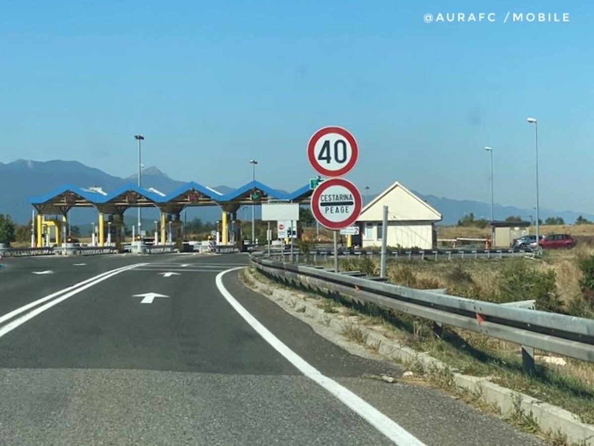 Peaje en carretera, Croacia