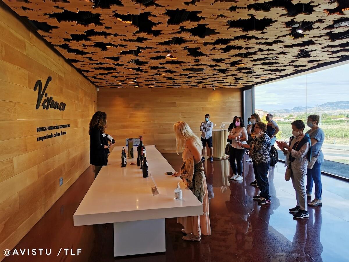 Sala de Catas Museo Bodega Vivanco en La Rioja